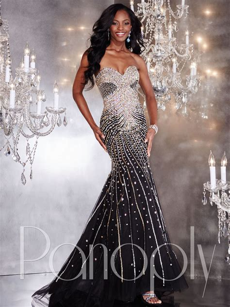 Black And Silver Evening by Black And Silver Prom Dresses All Dress