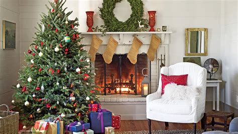 christmas tree living room christmas tree decorating ideas southern living