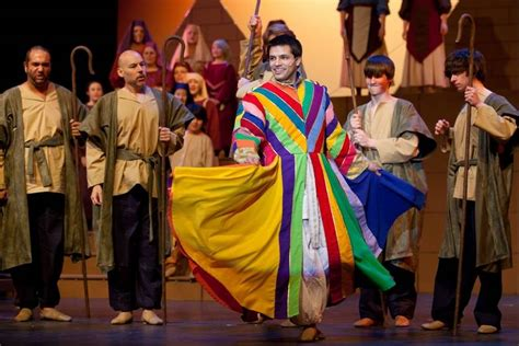 joseph and his coat of many colors naperville theater troupe presents joseph