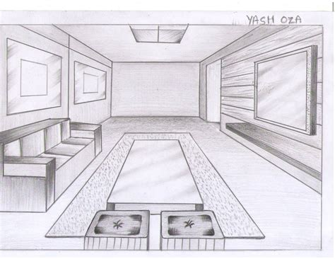 living room drawing http www k100 blogspot com