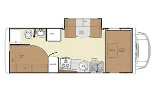 Class B Floor Plans Little Motorhomes May Be The Perfect Fit Class B