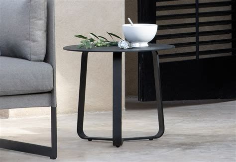 Garden Side Table Manutti Rodial Garden Side Table Modern Garden Furniture