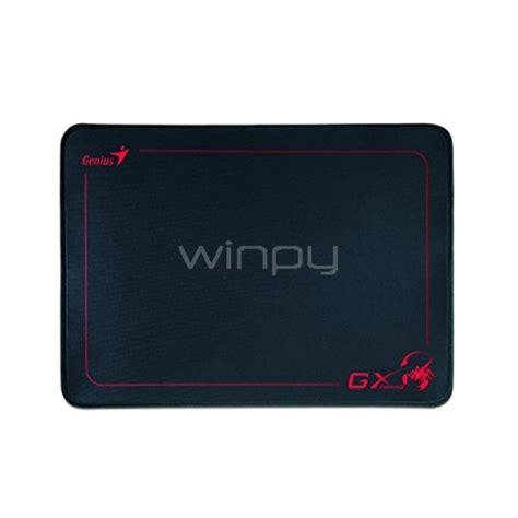 Genius Mousepad Gx mousepad genius gx speed 100 caucho negro winpy cl