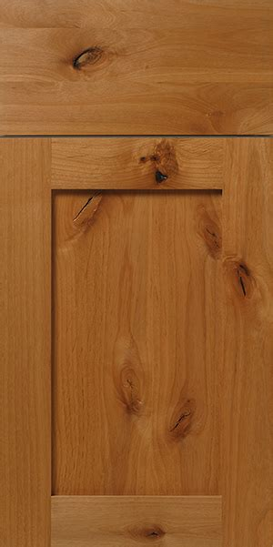 Rustic Knotty Alder Shaker Cabinet Door Walzcraft Can Custom Size Cabinet Doors