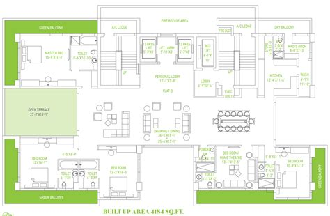 signature design plans amit realty and shree rsh group signature in tollygunge