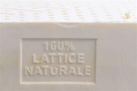 materasso bio materasso bio lattice naturale matrimoniale 18 rigido la