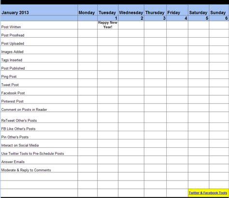 free blog planner to make blogging easier david