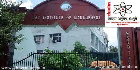 Mba In Faridabad by Davim Faridabad Dav Institute Of Management Dav College