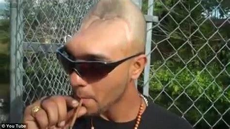 meet the half head man as he explains why he has half a head video man with half a head carlos halfy rodriguez explains how
