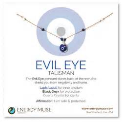 evil eye color meaning evil eye talisman necklace