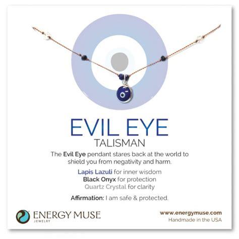 define ward off evil eye talisman necklace