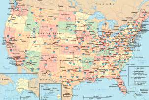 United State Road Map by Punny Picture Collection Interactive Map Of The United States