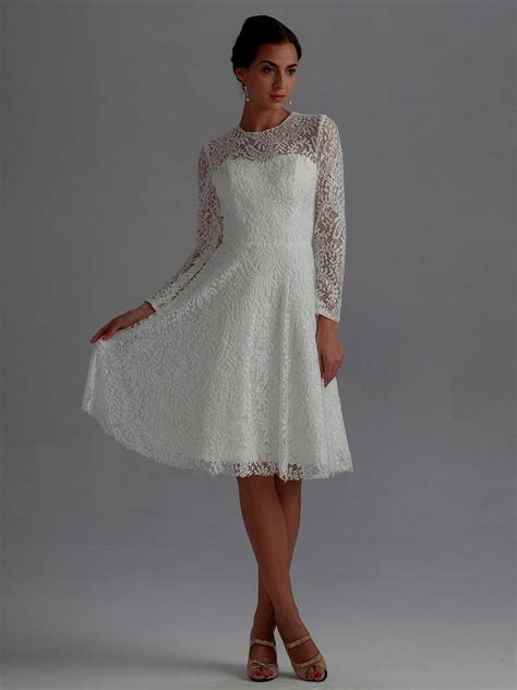 Knee Length Wedding Dresses by Knee Length Wedding Dresses With Sleeves Naf Dresses