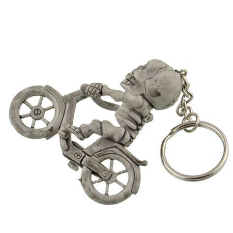 Kado Gantungan Kunci Souvenir Irak jual gantungan kunci model tengkorak bersepeda 3d karet