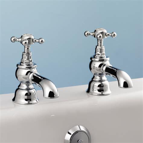 silverdale bath pillar taps from