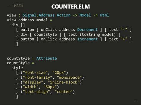 elm tutorial github introduction to elm