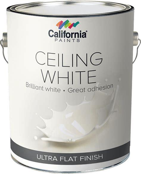 ceiling whites california paints
