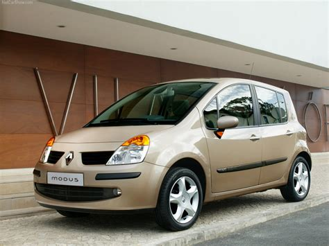 renault mpv renault modus cars specifications technical data
