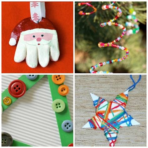 tree decorations children can make a tree you can be proud of crafty at home