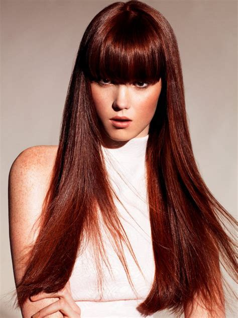 haircuts with bangs and color cute hairstyles with bangs for long hair images new