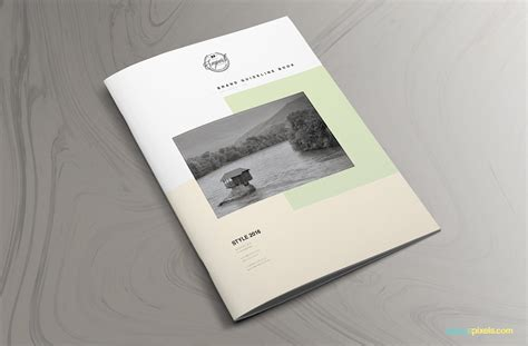 The Prestige Brand Manual Template Zippypixels Brand Manual Template