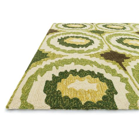 Wayfair Outdoor Rugs Loloi Rugs Enzo Lime Indoor Outdoor Area Rug Wayfair