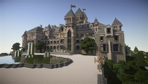 great gatsby mansion minecraft project construction manoir gatsby le magnifique minecraft