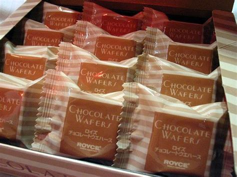 Royce Chocolate Wafer royce chocolate wafers tiramisu flavor the most chocolate from hokkaido japan