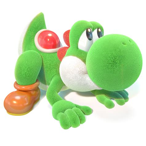 yoshis crafted world render