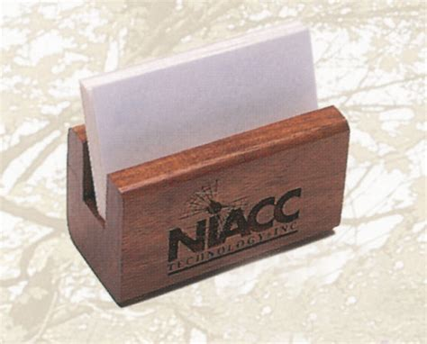 Slotted Business Card Holder