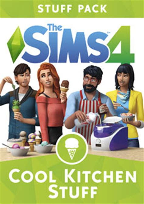How To Pack Kitchen Stuff by The Sims 4 Cool Kitchen Stuff Pack Sims