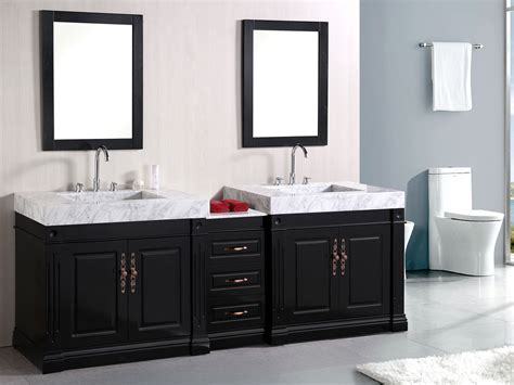 double bathroom sinks 88 quot odyssey double sink vanity bathgems com