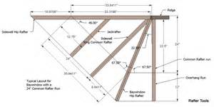 Bow Window Construction Detail roof framing geometry hip rafter roof plane alignment