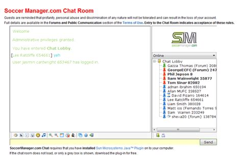 Football Chat Room by Soccer Manager Free Soccer Football Management