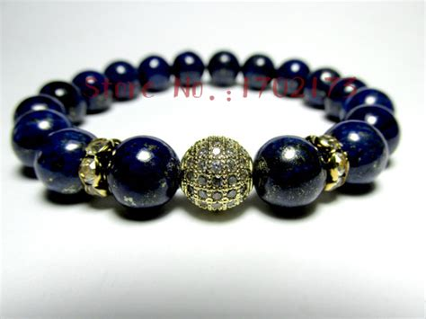 new design s beaded bracelet with blue lapis lazuli