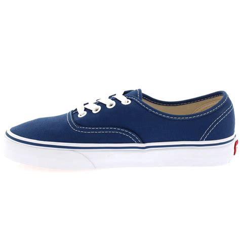 womens vans authentic canvas lace up sneakers casual