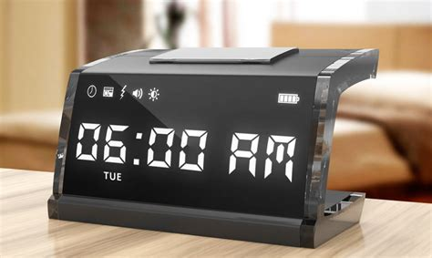 singnshock alarm clock delivers  electric shock  wake