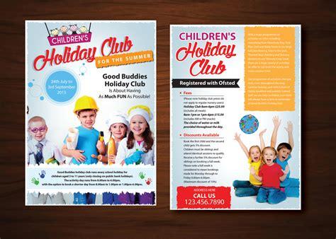 club flyer design uk elegant playful flyer design for chic 2 chic boutique ltd