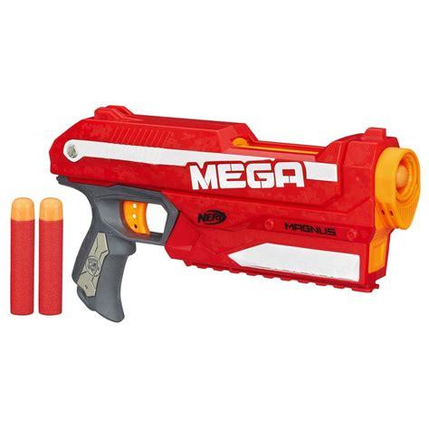 amazon nerf guns amazon com nerf n strike elite mega magnus blaster toys