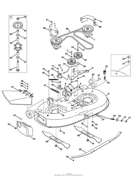 troy bilt pony mower parts diagram troy bilt 13an77kg011 pony 2009 parts diagram for mower