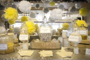Orange Yellow Gray Wedding on Pinterest   Yellow Candy
