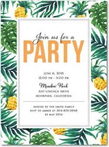 tropical delight invitations in mango east six