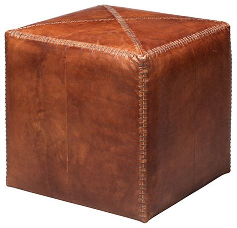 small ottomans and footstools tobacco leather small ottoman contemporary footstools