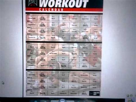 printable tapout xt calendar tapout xt printable workout calendar search results