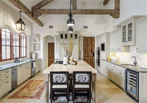 Rustic White Kitchen | 10 rustic kitchen designs that embody country life