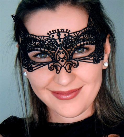 10 Masks To Match Your Black Dress by Childs Black Cat Mask Black Lace Cat Mask Shop Australia