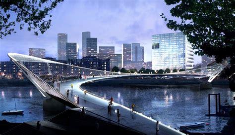 design competition bridge london s new bridge might be a sci fi masterpiece the