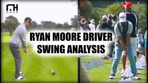 ryan moore swing ryan moore driver swing analysis youtube