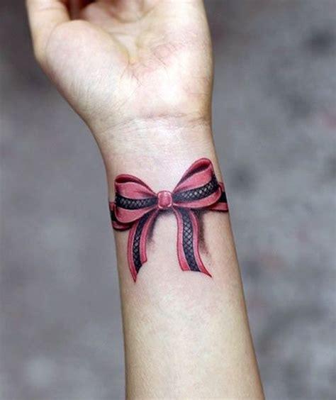 small bow tattoo on wrist 75 trendy bow designs tattoos tattoos wrist