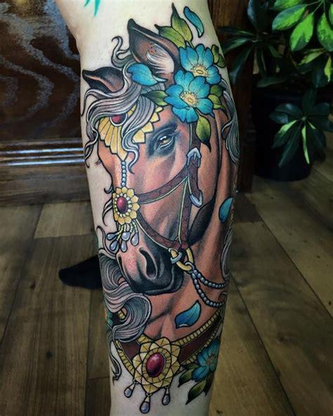 traditional horse tattoo sam smith s horses are really tattoos